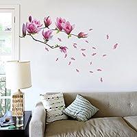Walplus Giant Magnolia Flowers Tree Decals Wall Sticker from Walplus