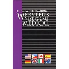 Vest Pocket Medical, The New International Webster's