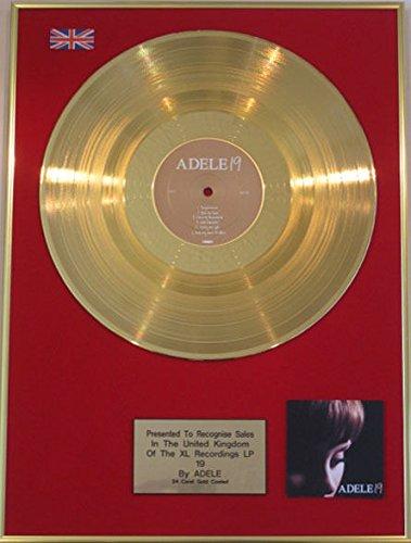 Adele - 24 Karat Gold Disc Original