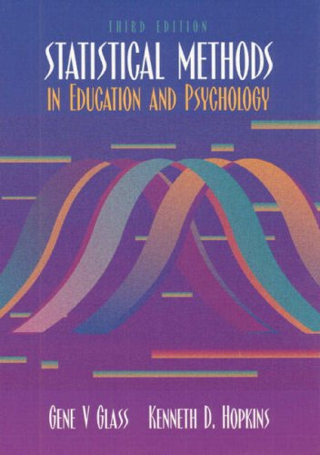 Statistical Methods in Education and Psychology (3rd...