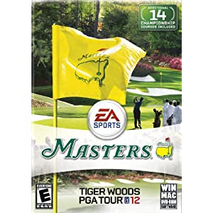 Tiger Woods PGA TOUR 12: The Masters Video Game for Windows