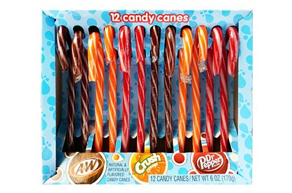 American Soda Candy Canes, 12ct (C Candy Crush Soda compare prices)