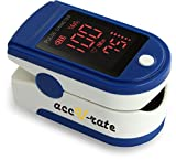 CMS 50DL Generation 2 Fingertip Pulse Oximeter Oximetry Blood Oxygen Saturation Monitor with silicon cover, batteries and lanyard