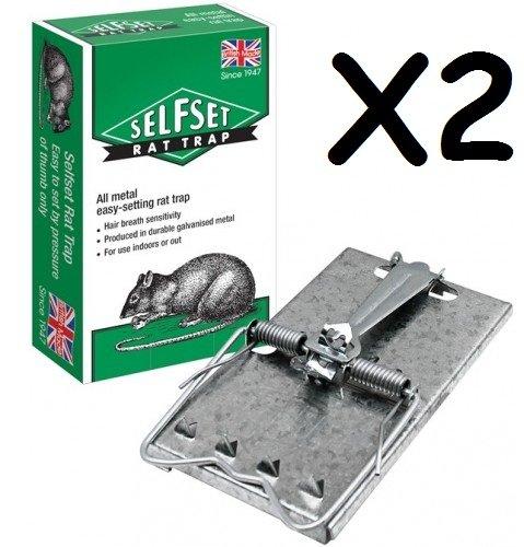 2x-british-made-self-set-selfset-all-metal-rat-trap-traps