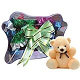 Stylish Butterfly Chocolate Pack Combo With Teddy