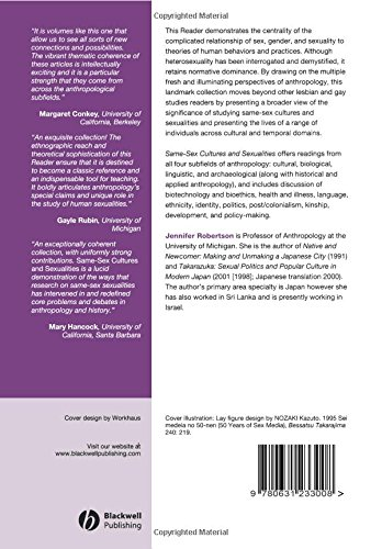 Same Sex Cultures: An Anthropological Reader (Wiley Blackwell Readers in Anthropology)