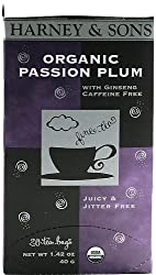 Harney &amp; Sons Organic Passion Plum Tea - 120 ct