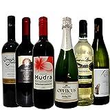 ワイン名産国周遊 チリ・スペイン・イタリア飲み比べ ワインセット 赤ワイン3本 白ワイン2本スパークリングワイン1本 750ml×6本