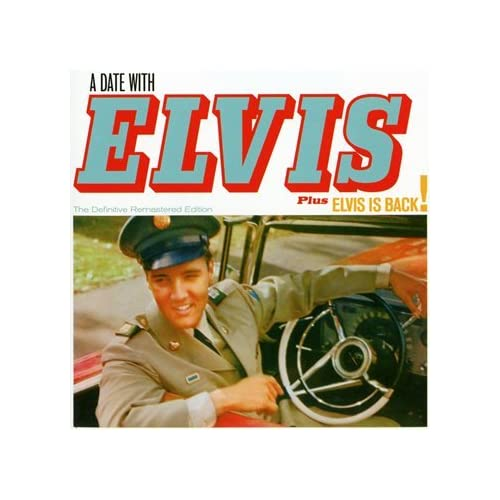 A-Date-With-Elvis-Elvis-is-Back-Elvis-Presley-Audio-CD