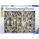 Ravensburger - Puzzles 5000 piezas, diseño La Capilla Sixtina (17429 4)