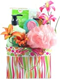 Citrus Wave, Spa Gift Basket for Her (Small)