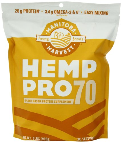Manitoba Harvest Hemp Pro 70 Protein Supplement, 32 Ounce