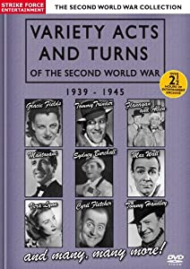 Variety Acts And Turns Of The Second World War 1939-1945 [DVD]
