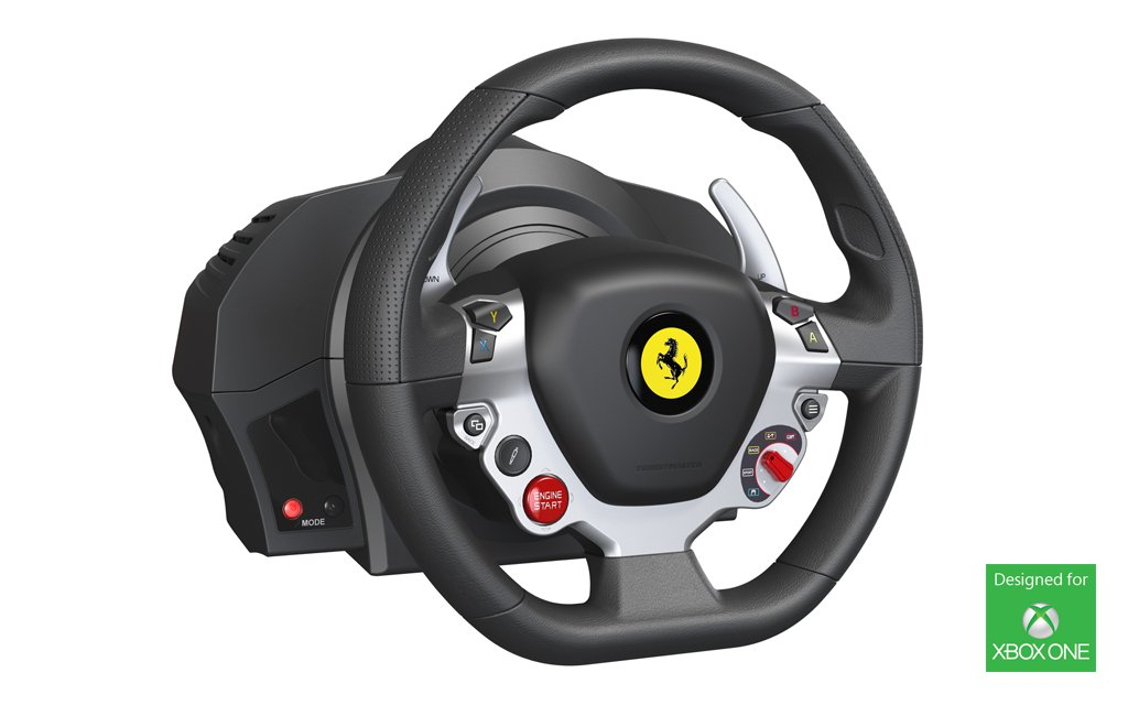 thrustmaster racing wheel for xbox one system wars gamespot. Black Bedroom Furniture Sets. Home Design Ideas