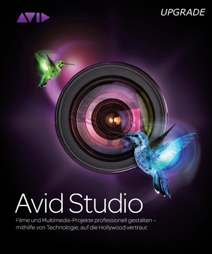 Avid Studio, Upgrade Edition from Pinnacle Studio 9 or higher, Liquid Edition v.6, or Avid Liquid 7 (PC)