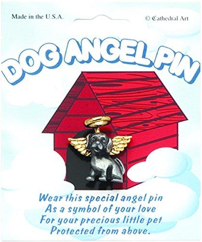 Cathedral Art TPA100 Dog Angel Pin