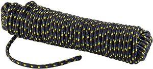 Semptec 30 m Geflochtenes Faserseil aus Polypropylen, 13mm Durchmesser