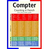 A3 homemade* French poster teaching aid / classroom resources - Counting in French/Compter (supplied folded to A4, NOT laminated)by 123 Web Art