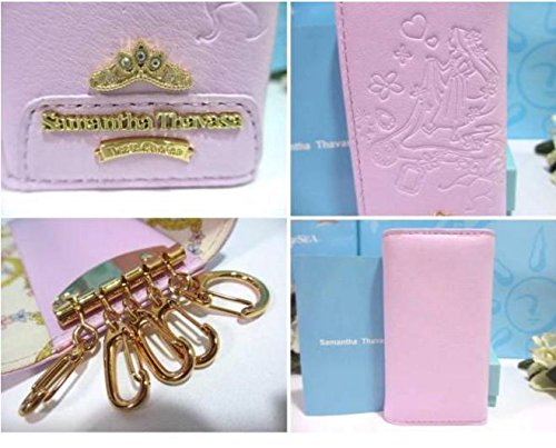 Disney Samantha thavasa Rapunzel Key Case Rosa dal Giappone