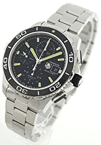 TAG Heuer Mens Aquaracer Chronograph Stainless Steel Watch