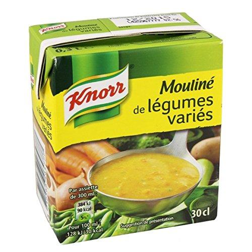 Knorr - Soupe mouliné de légumes variés - La brique de 300ml - (pour la quantité plus que 1 nous vous remboursons le port supplémentaire)