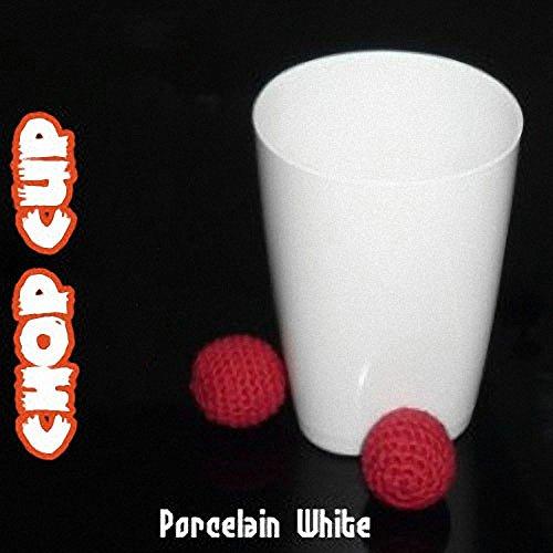 Chop Cup (Porcelain White,Plastic) - Close Up Magic