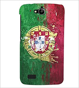 PrintDhaba Graffiti D-5175 Back Case Cover for HUAWEI HONOR HOLLY (Multi-Coloured)