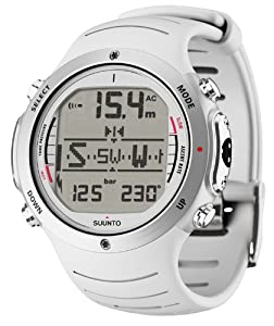Buy Suunto D6i SS018744000 Computer With USB PC Download Kit, White by Suunto
