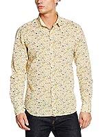 ZZ_Meltin Pot Camisa Hombre (Amarillo Claro)