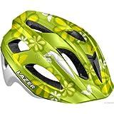 Lazer P'nut Youth Helmet: Green Flower (46-53cm)
