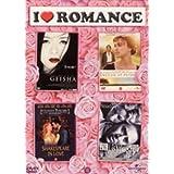 I love Romance: M�moires d'un Geisha, Orgueil et pr�jug�s, Shakespeare in love, Leaving Las Vegas - Coffret 4 DVDpar Nicolas Cage