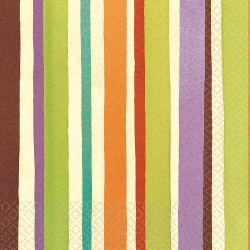 Crafty Stripe Luncheon Napkin