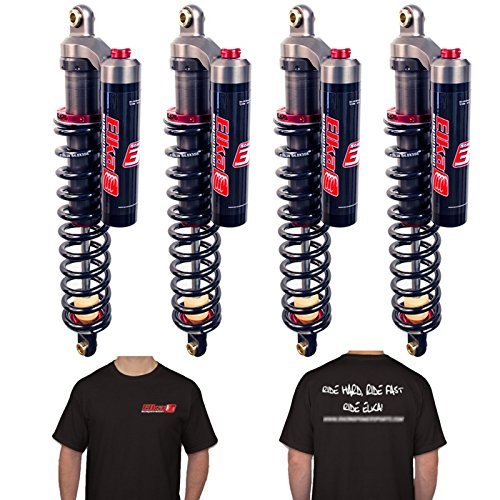 ELKA Suspension Stage 3 Shocks Front & Rear Kit YAMAHA RHINO 660 (Yamaha Rhino Rear Springs compare prices)