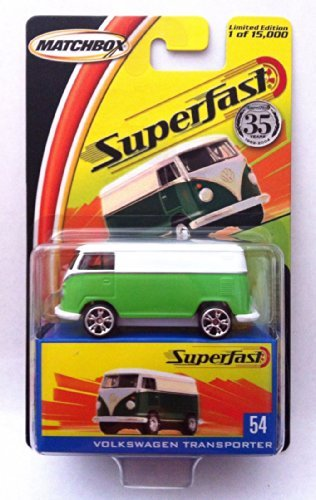 Matchbox Superfast #54 - Volkswagen Transporter Limited Edition 1 of 15,000