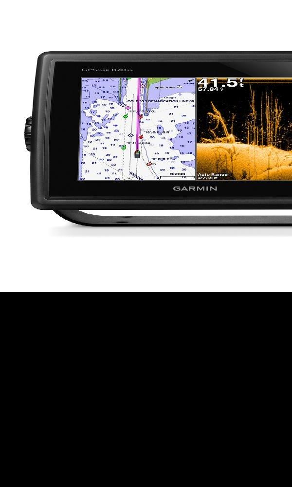 Garmin 010-01181-00 GPSMAP 840xs Chartplotter/Sonar Combo with DownVu Transducer эхолот garmin echo 301c 010 01260 00
