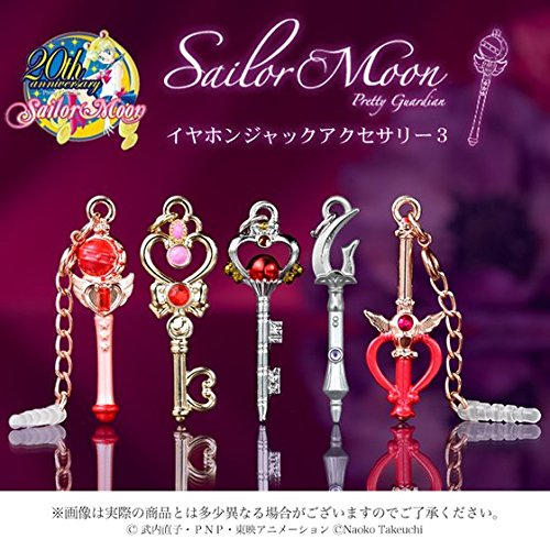 Sailor Moon earphone jack accessories 3 (Sailor Moon Jacks compare prices)
