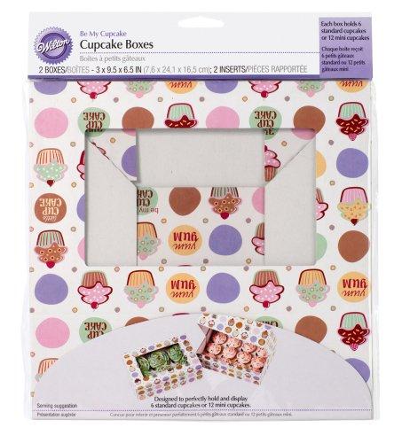 Wilton Be My Cupcake Large Cupcake Boxes