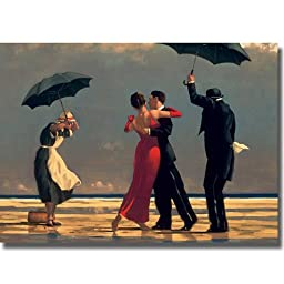 Singing Butler by Jack Vettriano Premium Oversize Stretched Canvas (Ready-to-Hang)