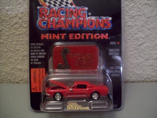 Racing Champions Mint Series Issue #5 1968 Ford Mustang Cobra - 1