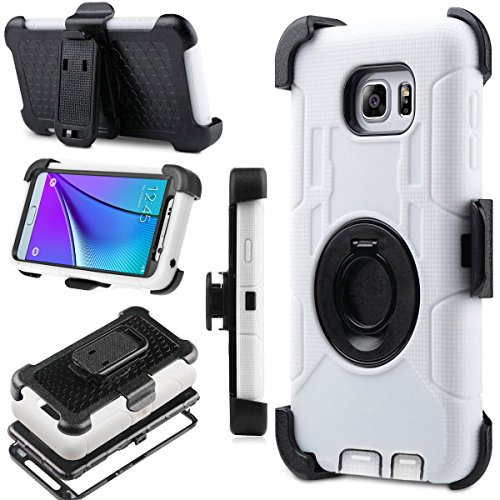 Note 5 Case, Galaxy Note 5 Case, BENTOBEN Note 5 Shockproof Heavy Duty Hybrid Full-Body Rugged Holster Protective Case Cover for Samsung Galaxy Note 5
