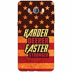 Samsung J7 new edition 2016 Back Cover - Silicon Harder Designer Cases