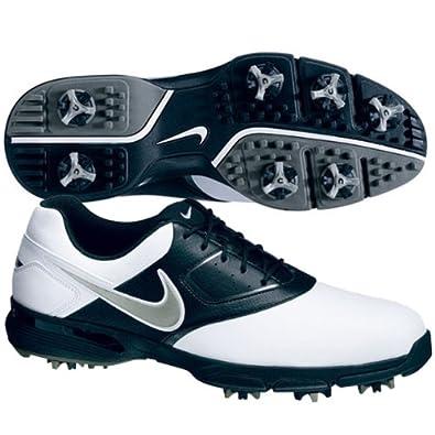 2013 Nike Heritage III Herren Golfschuhe ** New Out** White/Metallic/Silver/Black 41 UK