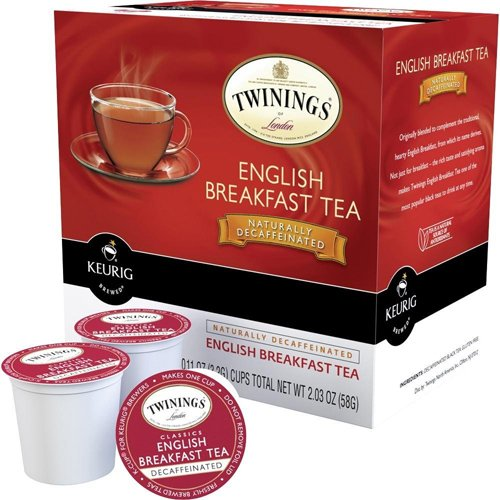 Twinings English Breakfast Tea Decaffeinated - 18 Count - 86004 front-620228