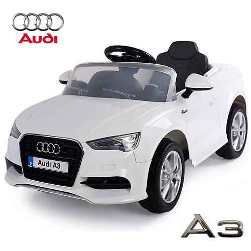 #AUDI A3 Cabriolet Kinder Elektroauto Elektro Kinderauto Kinderfahrzeug (Weiss)#