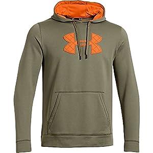 Under Armour 1248019 Storm Caliber Hoody-Thyme Blaze Orange