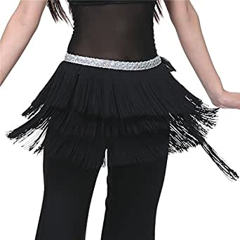 Dance Fairy belly Dance tasselss hip scarf