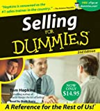 Selling for Dummies (For Dummies (Lifestyles Audio))