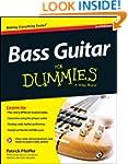 Bass Guitar For Dummies, Book + Onlin...