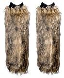 Clubbing Faux Fur Leg Warmers