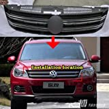 GOOACC® Front Grill Central Grille / Exterior /Interior For 2012 2013 VW Tiguan